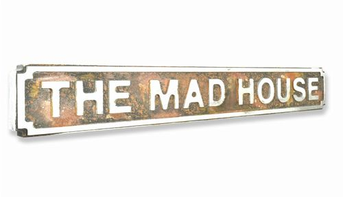 The Mad House New Shape Rust Finish